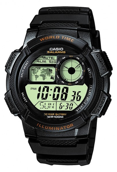 Casio Herren Armbanduhr AE-1000W-1AVEF digital