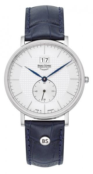 Bruno Söhnle Herren Armbanduhr 17-13215-241 München I Lederband blau