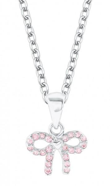 Lillifee Mädchen Halskette 2024370 Schleife rosa Silber 925