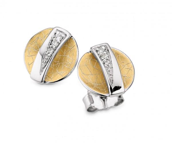 CEM Trends Damen Ohrstecker S-00645O Silber Brillant