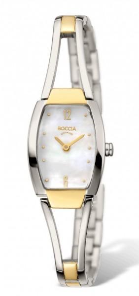 Boccia Damen Armbanduhr 3262-02 Dress