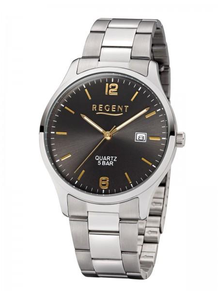 Regent Herren Armbanduhr F-1177 Edelstahl