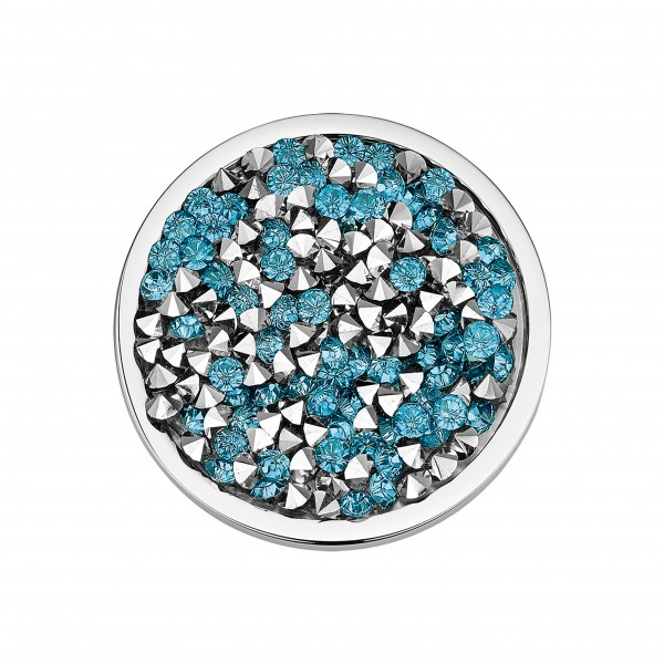 CEM Coins CS323/CS324 Anhänger Kristall blau