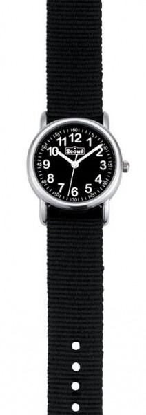 Scout Kinder Armbanduhr 280304002 START UP schwarz