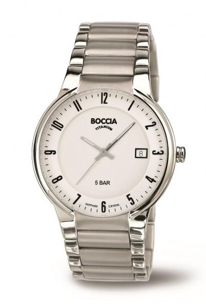 Boccia Herren Armbanduhr 3576-02 Titan Classic