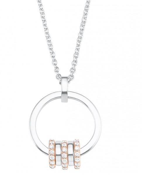 s.Oliver Damen Halskette 2027610 Silber Zirkonia