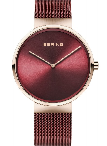 Bering Armbanduhr 14539-363 Classic roségold-rot
