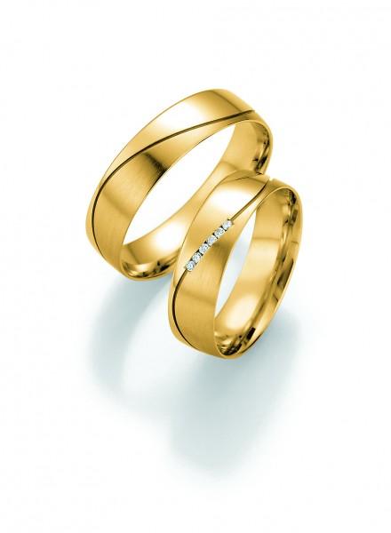 Eheringe Trauringe Pure I 66/30130 66/30140 Gelbgold