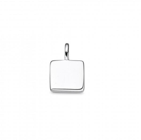 CEM Trends Damen Anhänger 5-210466-001 S-00568A Quadrat Silber