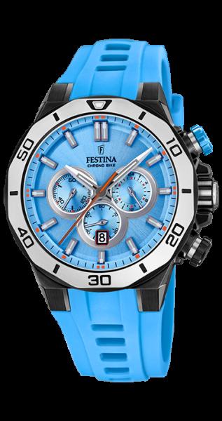 Festina Herrenuhr Chrono Bike 2019 F20450/6 blau