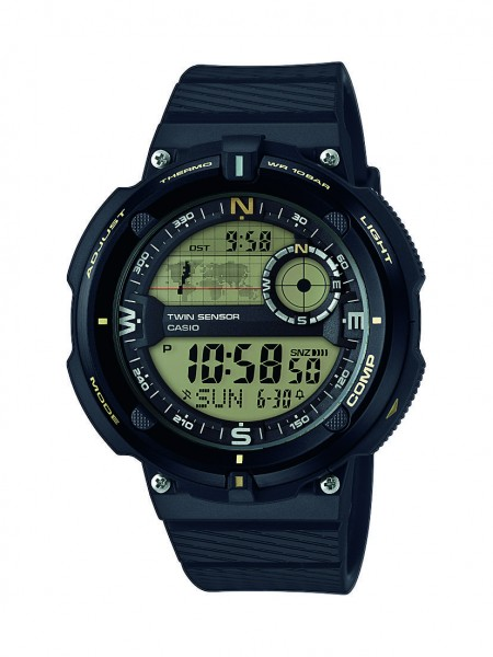 Casio SGW-600H-9AER digitale Multifunktionsuhr Herren