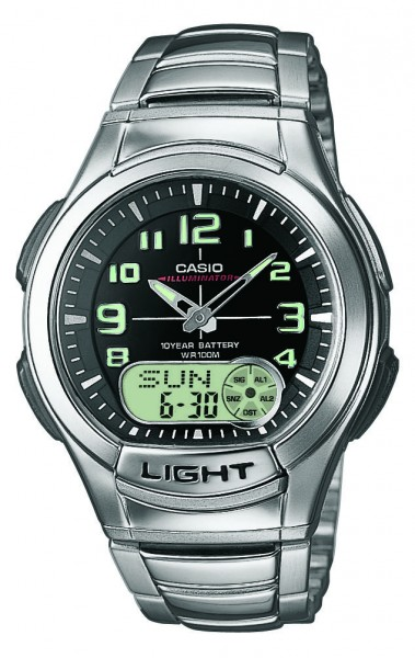 Casio Herren Armbanduhr AQ-180WD-1BVES analog-digital