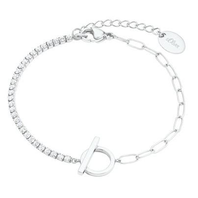s.Oliver Damen Armband 2028511 Silber Zirkonia