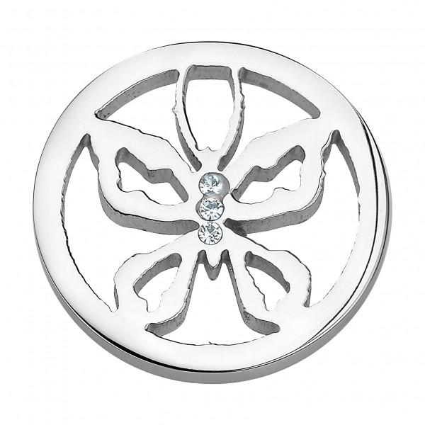 CEM Coins CS109/CS110 Anhänger Schmetterling Zirkonia