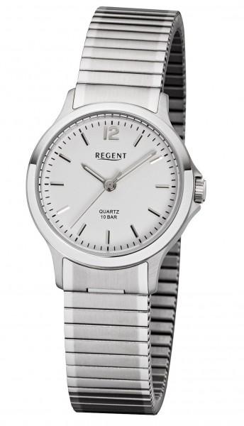 Regent Damen Armbanduhr 3037.44.91 F-1018 Edelstahl Zugband