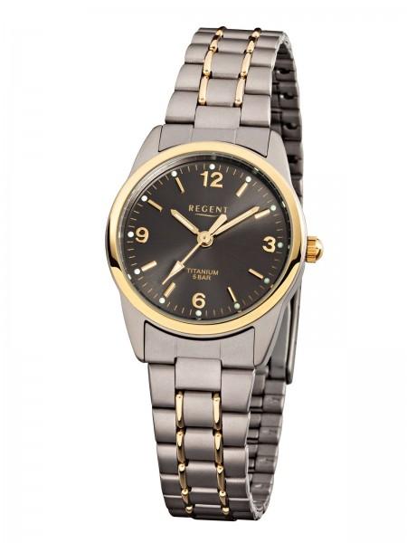Regent Damen Armbanduhr 7170.91.95 F-429 Titan Gold IP
