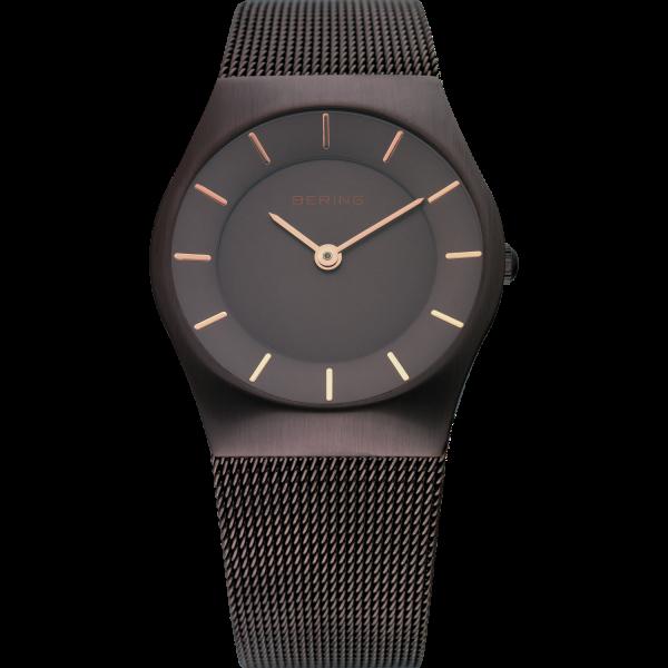 Bering Damen Armbanduhr 11930-105 Classic braun