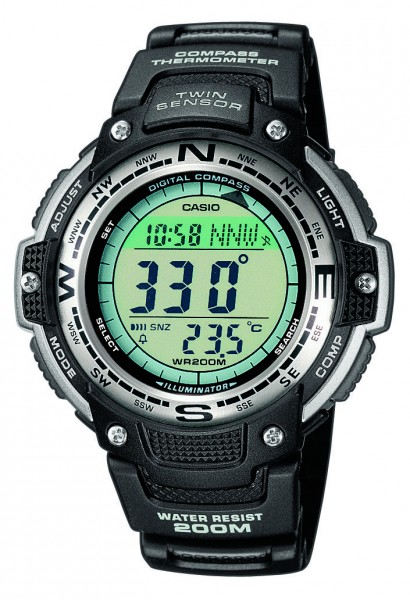 Casio SGW-100-1VEF Herrenuhr Multifunktion
