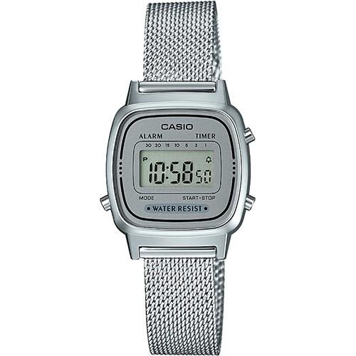 Casio Damen Armbanduhr LA670WEM-7EF Vintage digital