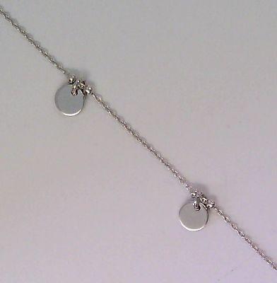 CEM Damen Armband S-00522B Plaketten Silber