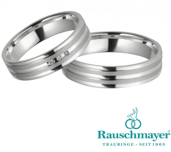 Eheringe Trauringe Rauschmayer Easy Pair 10-05516 11-05516 Weißgold