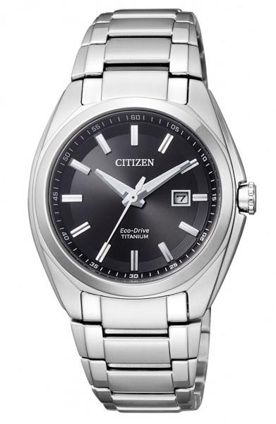 Citizen Damen Armbanduhr Eco Drive EW2210-53E Super Titanium