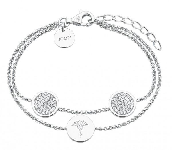 JOOP! Damen Armband 2027643 Silber Zirkonia