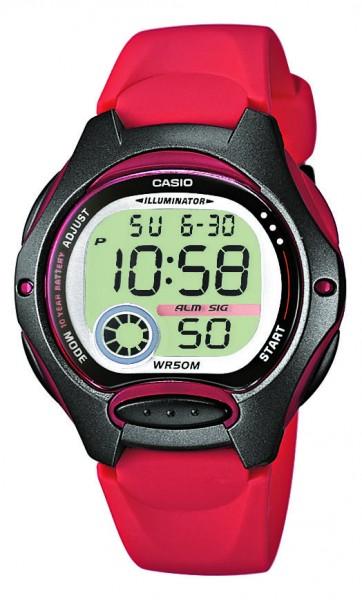 Casio Armbanduhr LW-200-4AVEG digital
