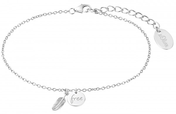 s.Oliver Damen Armband SO PURE 2032580 Silber