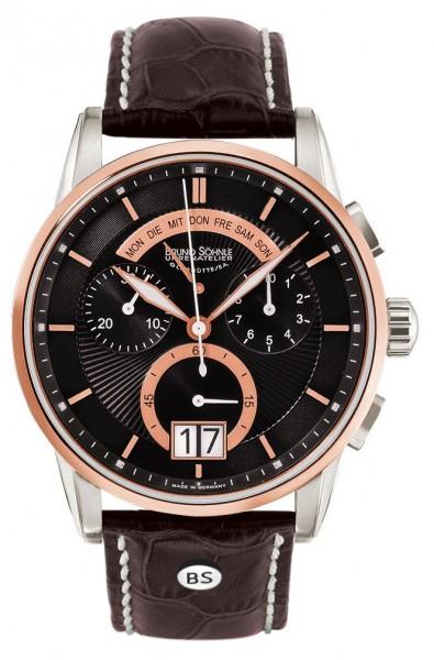 Bruno Söhnle Herren Armbanduhr 17-63117-745 Grandioso Chronograph