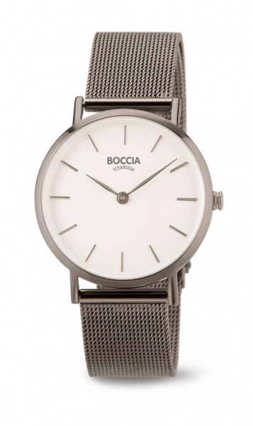 Boccia Damen Armbanduhr 3281-04 Trend grau
