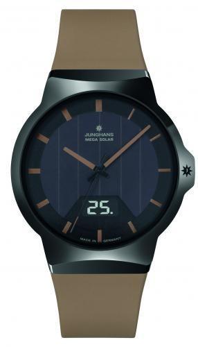 Junghans Herren Armbanduhr 018/1001.00 Force Mega Solar