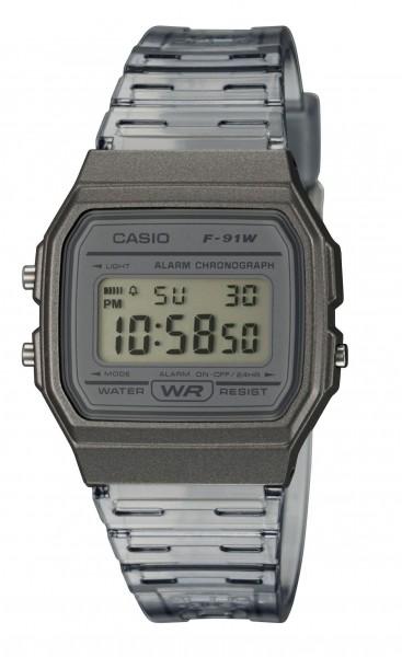 Casio Armbanduhr F-91WS-8EF digital