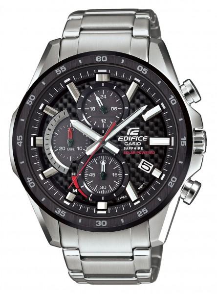 Casio Herren Armbanduhr Edifice Premium EFS-S540DB-1AUEF Solar Chronograph