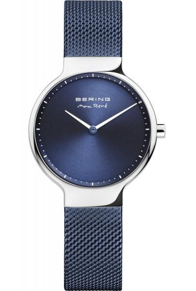 Bering Damen Armbanduhr Max René 15531-307 silber-blau