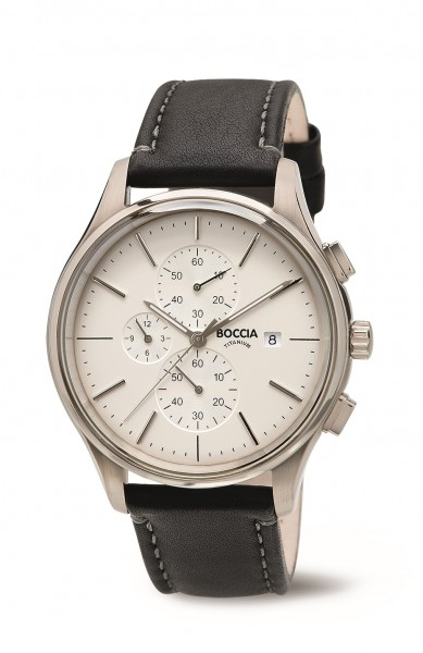 Boccia 3756-01 Herrenchronograph