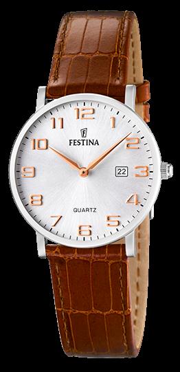 Festina Damen Armbanduhr F16477/2 Klassik