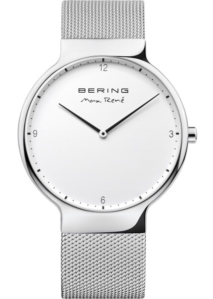 Bering Herren Armbanduhr Max René 15540-004 silber