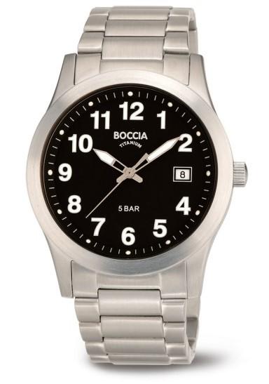 Boccia Herren Armbanduhr 3619-03 Classic