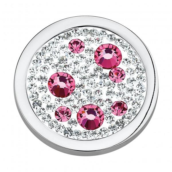 CEM Coins CS033/CS034 Anhänger Kristall pink
