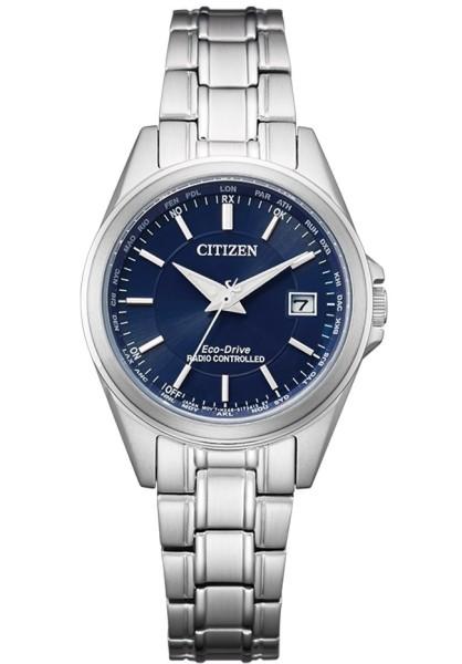 Citizen Damen Armbanduhr EC1180-81L Eco-Drive Funk