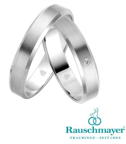 Eheringe Trauringe Rauschmayer Easy Line 2003684 21-03684 Weißgold