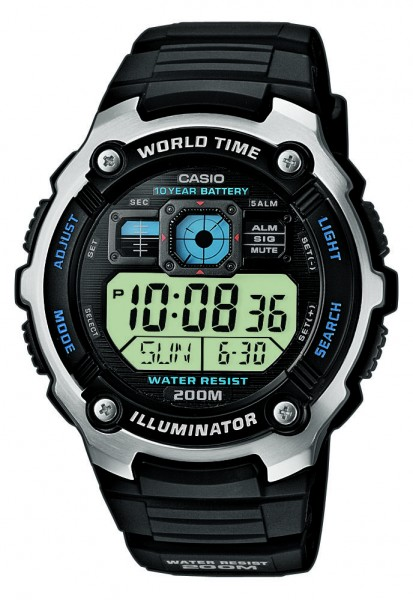 Casio AE-2000W-1AVEF digitale Herrenuhr