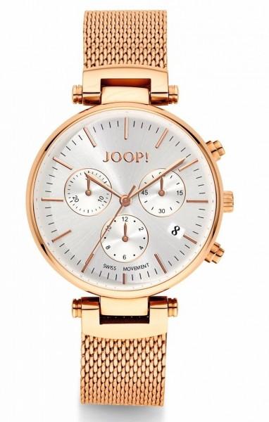 JOOP! Damen Armbanduhr 2022831 Chronograph Rosegold IP