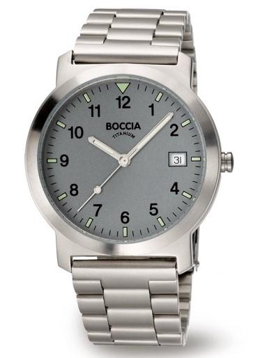 Boccia Herren Armbanduhr 3630-02 Sport