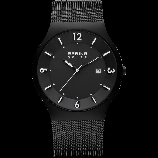 Bering Herren Armbanduhr 14440-222 Slim Solar