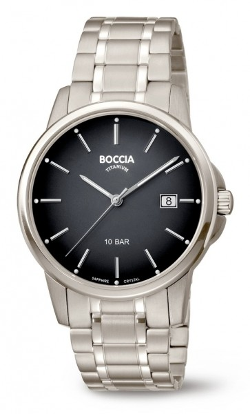 Boccia Herren Armbanduhr 3633-07 Classic