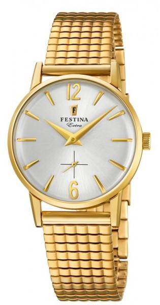 Festina Damen Armbanduhr F20257/1 Klassik Zugband