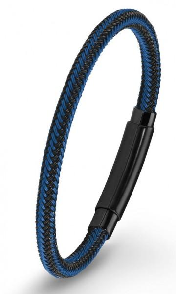 s.Oliver Herren Armband 2020885 Edelstahl IP black