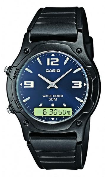 Casio Herren Armbanduhr AW-49HE-2AVEG analog-digital